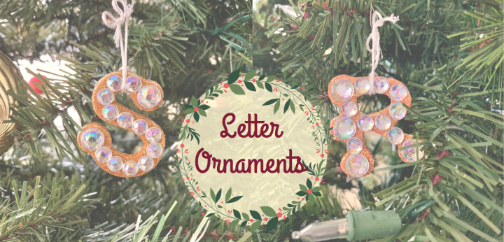 DIY Letter Ornaments