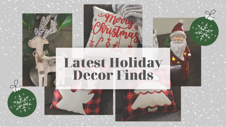 Latest Holiday Decor Finds