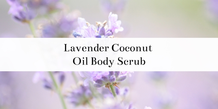 Find out how to make this super easy lavender sugar scrub. This sugar scrub has coconut oil, which is super nourishing for your skin, and brown sugar to help exfoliate. Lavender essential oil makes this scrub smell amazing and is a perfect way to help you relax and reduce stress. #DIY #DIYideas #bath #skincare #bodyscrub #sugarscrub #coconutoil #brownsugar #lavender #exfoliating