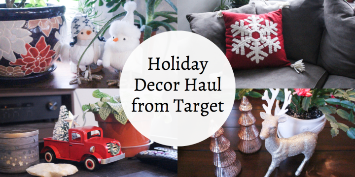 Holiday Decor Haul from Target