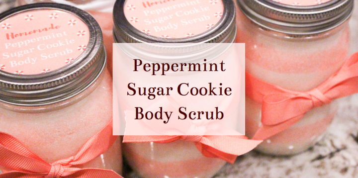 Peppermint Sugar Cookie Scrub