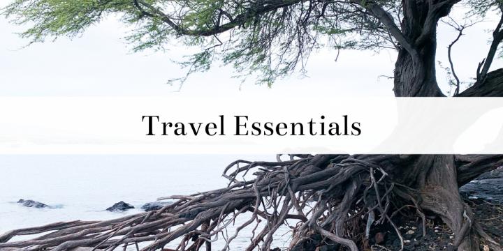 My List of TravelEssentials