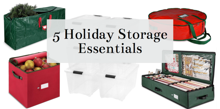 5 Holiday Decor Storage Essentials