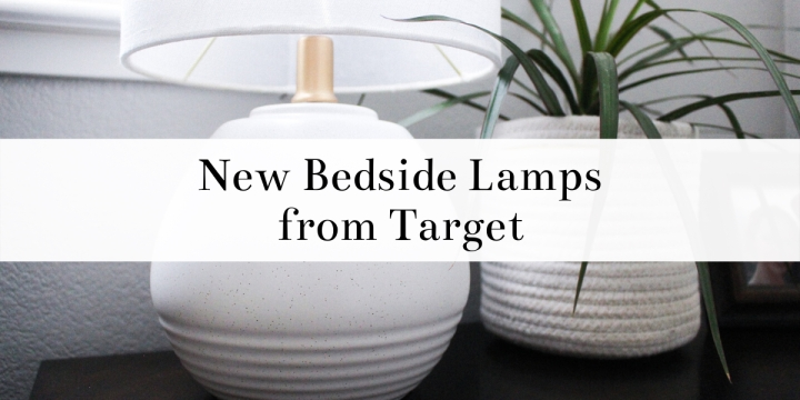 The Difference New Bedside Lamps Can Make / NightstandMakeover