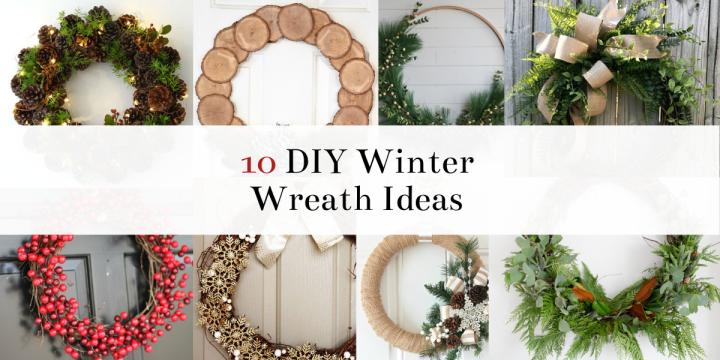 10 Amazing Winter Wreath Ideas FromPinterest